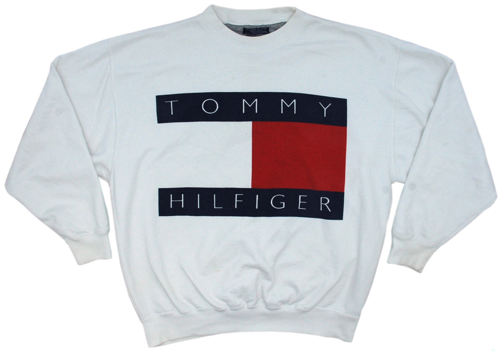 vintage tommy hilfiger sweatshirt size medium grubby mits. Black Bedroom Furniture Sets. Home Design Ideas