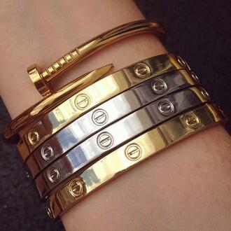 jewels jewelry bracelets stacked bracelets gold silver gold bracelet silver bracelet