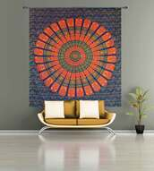 home accessory,hippie tapestry,bedding,wall hanging designer tapestry,hippie,tapestry,blue,orange,aztec,boho,bohemian,pretty,tribal pattern,indie,mandala,mandala wall hanging,round mandala,home decor,holiday home decor,boho tapestries,boho chic,wall decor,wall tapestry,round wall hangings,tumblr,Handicrunch,hippie wall hanging,hippie bedspread,bedroom,boho bedding,bedspread bedcover,tenture,gypsy,blanket,throw blanket,print,dorm room,scarf,burgundy,hippy vibe,hipster vibe,urban,vintage,vintage decor,tumblr room,tumblr inspired,indian,pattern