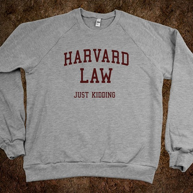 Fancy - Harvard Law (Just Kidding) Sweater