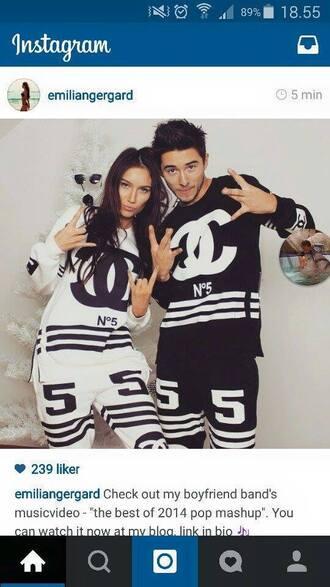 pajamas tracksuit chanel menswear