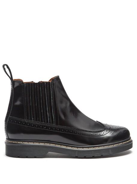 Joseph ankle boots leather black shoes