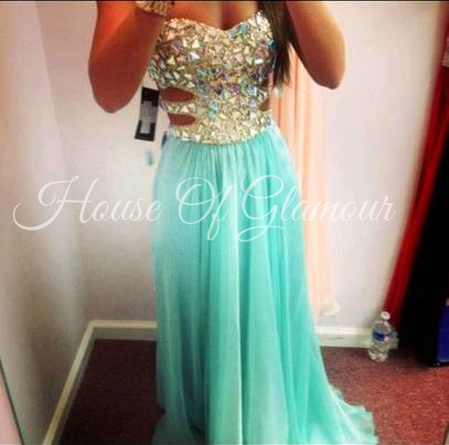 Sherri hill cut outs dress from house of glamour on storenvy