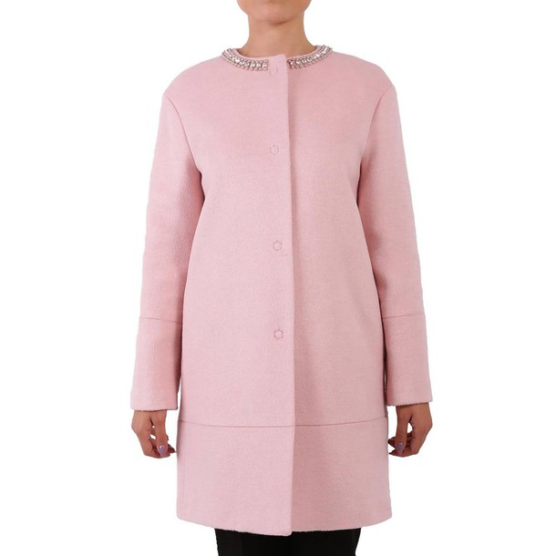 Blugirl coat women pink