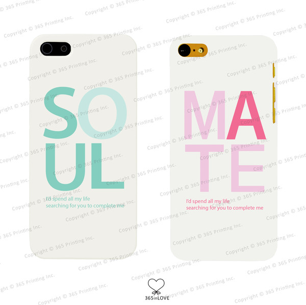 phone cover matching phone cases soulmates soulmate matching couples his and hers gifts mr and mrs wedding gifts romantic gift phone cover pastel phone case