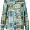 All-over money print shirt - topshop