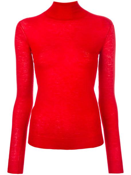 Joseph - cashmere jumper - women - Cashmere - L, Red, Cashmere