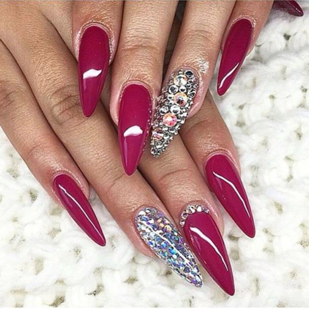 nail polish burgundy nail accessories