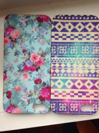 phone cover flowers