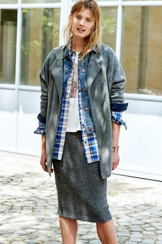 le fashion image blogger jacket shirt
