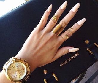 nail accessories ring nails michael kors watch