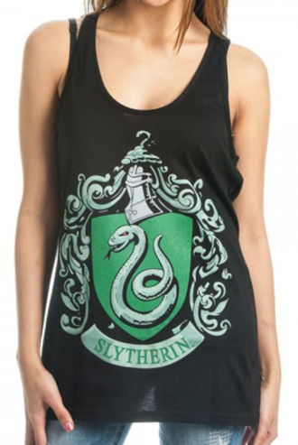 harry potter slytherin tank top black green cool girl style snake