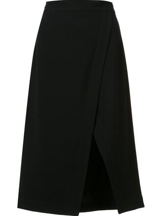 skirt slit skirt slit black