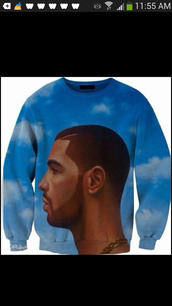 drake,sweater,drake sweatshirt,drake hotlinebling sweater