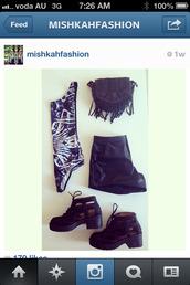 shoes,boot,leather,short,bag,grunge,leotard