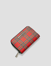 purse,tartan,red,bag