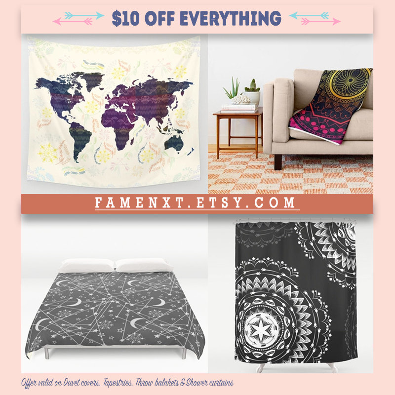 Boho Wall Tapestries Duvet Covers Posters Home Decor by Famenxt