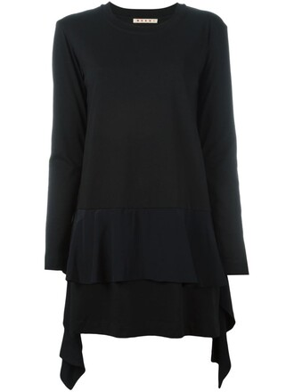 tunic black top