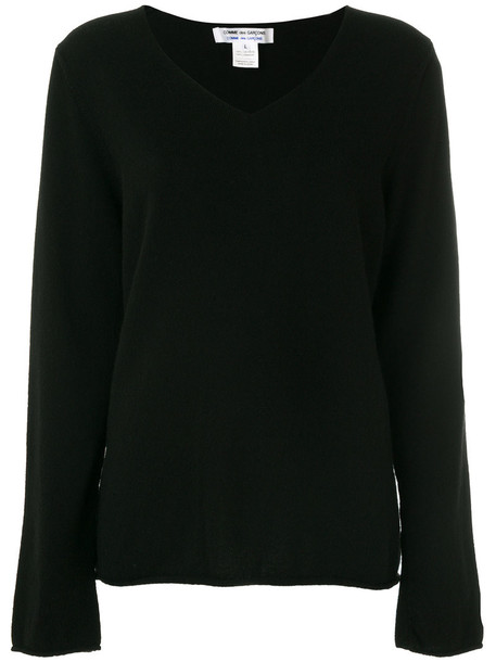 Comme des Garçons Comme des Garçons jumper women black sweater