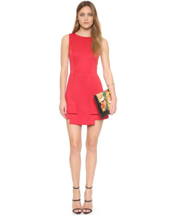 dress red dress finders keepers short dress short red dress mini dress