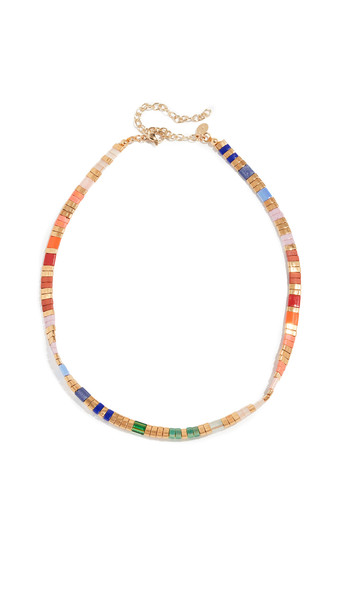 Shashi Tilu Choker in gold / multi