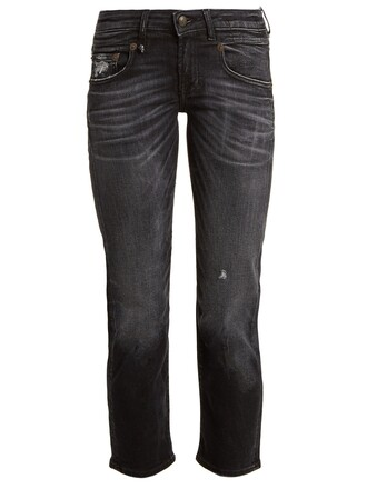 jeans cropped jeans cropped black