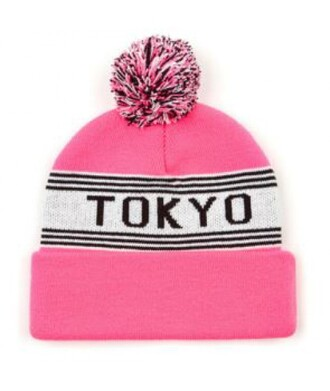 hat beanie tokyo pink cool fashion style trendy stylish winter outfits it girl shop