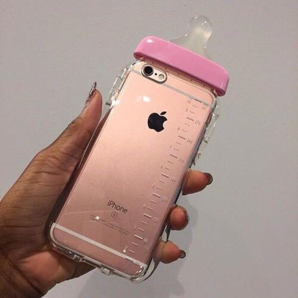 Sports Bottle Phone Case: Baby Bottle Iphone Case