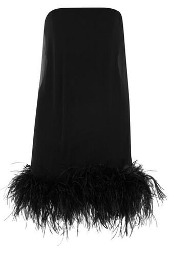 dress mini dress mini chiffon black
