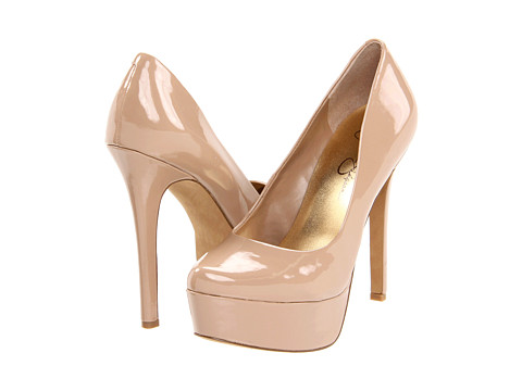 Jessica Simpson Waleo Nude Patent - Zappos.com Free Shipping BOTH Ways