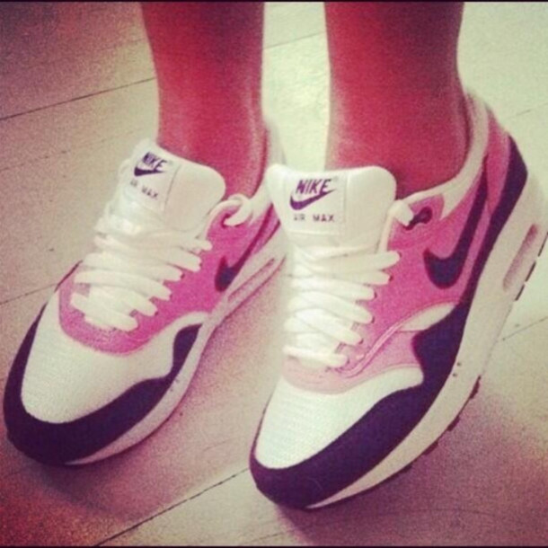 611044f173 shoes air max nike air max 1 pink women girl nike nike air force air max