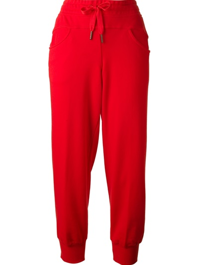 Adidas By Stella Mccartney Drawstring Sweat Pants  - Al Duca D'aosta - Farfetch.com