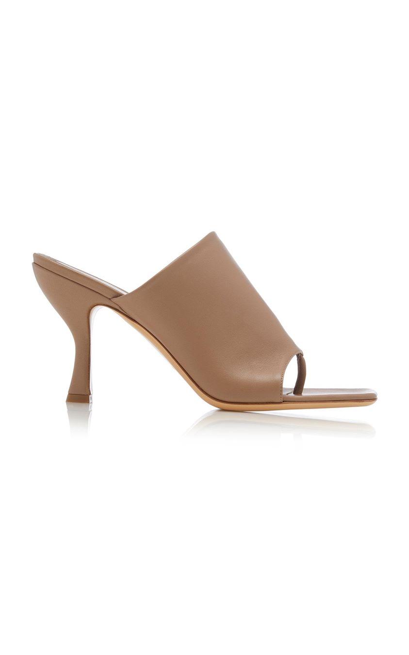 GIA x Pernille Teisbaek Minimal Leather Sandals Size: 35