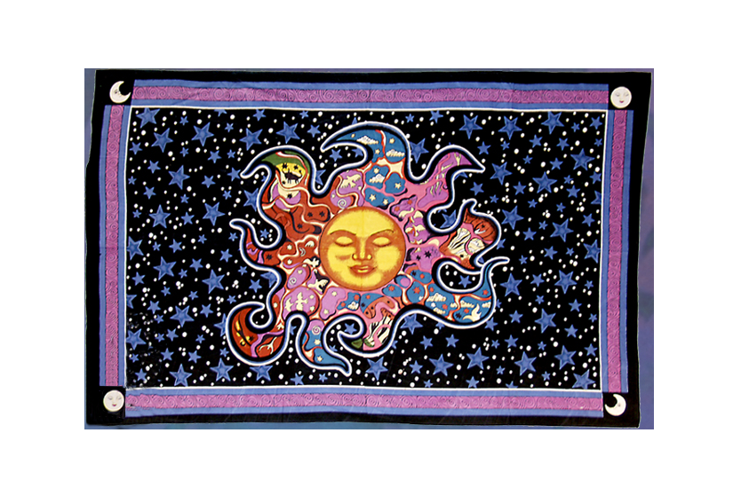 Celestial psychadelic dreams tapestry