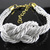 Fashion Style White Leather Wrap Adjustable Ropes Design European Bracelet | eBay