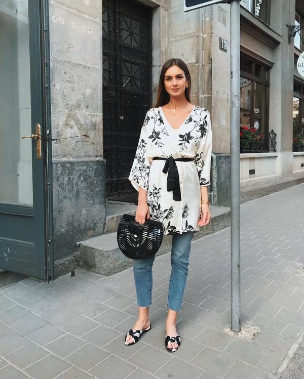 jeans top denims shoes bag