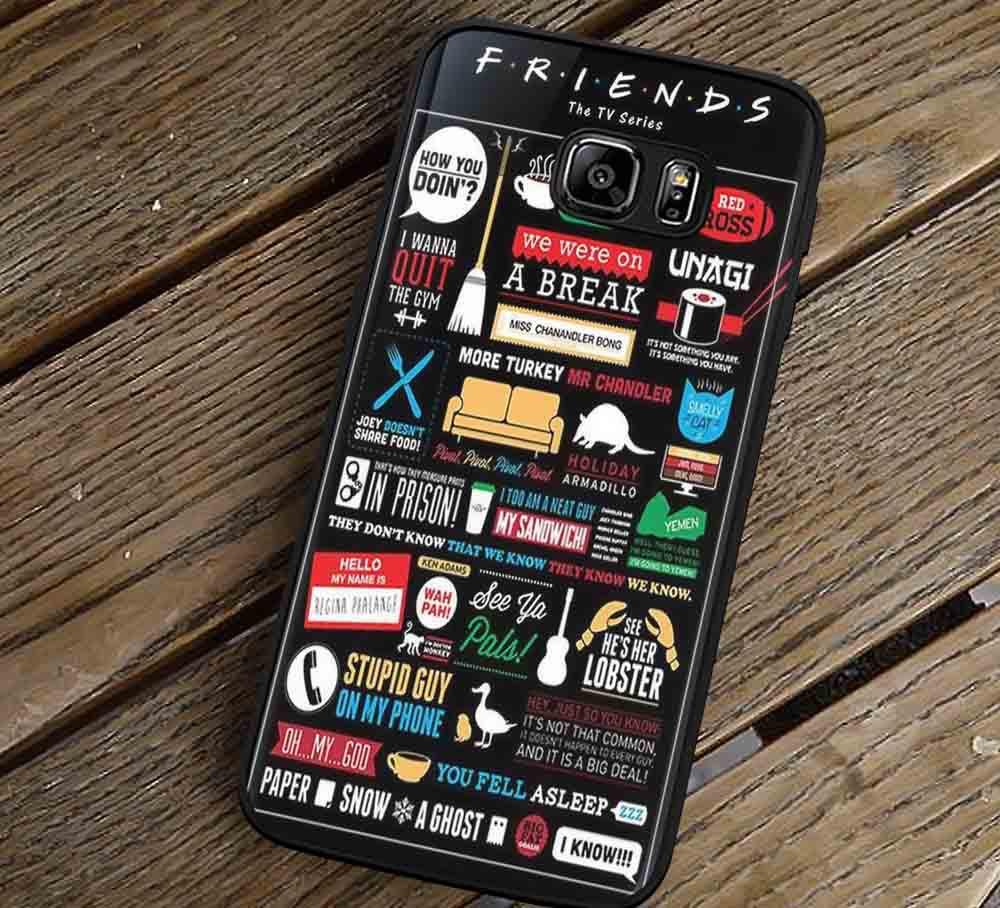 Friends TV Show Central Perk Samsung Galaxy s3 s4 s5 s6 Edge NOTE 5 4 3  Cases #movie #Friends lk