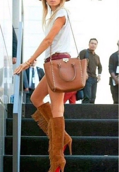bag brown bag leather bag girl handbag shoulderbag