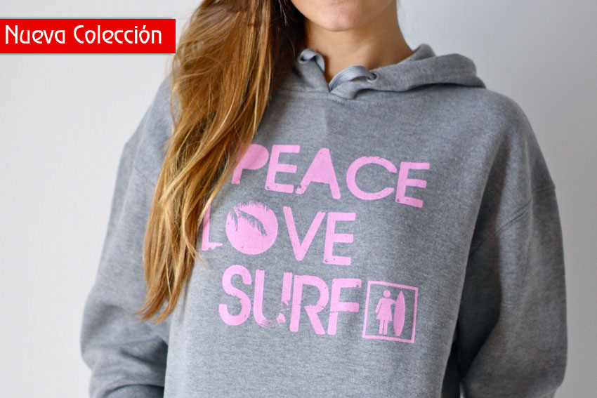 Sudadera gris chica | Like To SURF