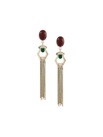 jewels earrings metallic