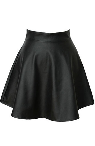 Ricana Faux Leather Skirt   Outfit Made