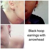 jewels,michaelclifford,earrings,black