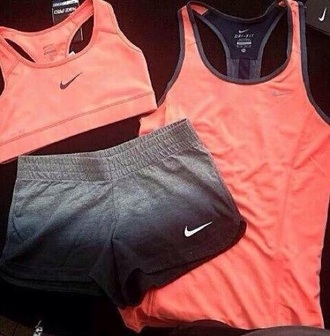 shorts nike ombre