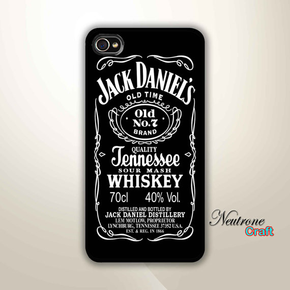 4 Hard Case Jack Daniels Phone Cover by NeutroneCraft