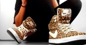 nike,leopard print,nice,jeans,shoes,hat,nike hightops,nike sneakers,high tops,leoard