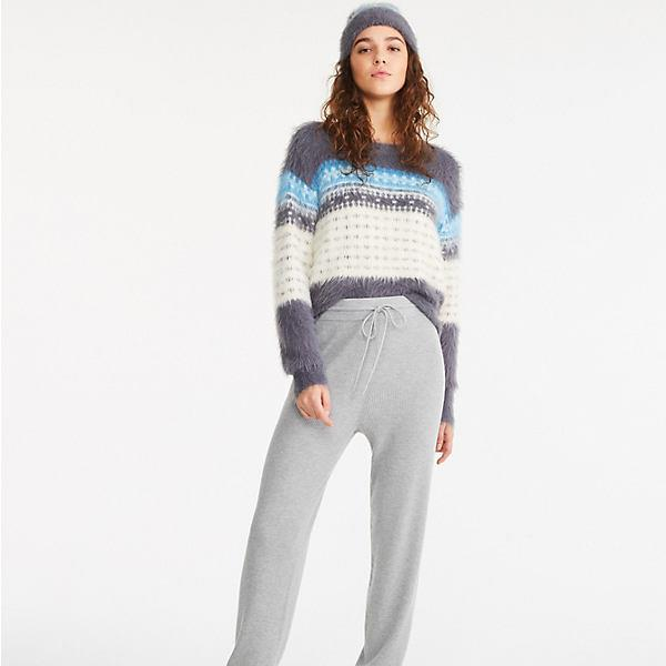 Ribbed Sweater Joggers