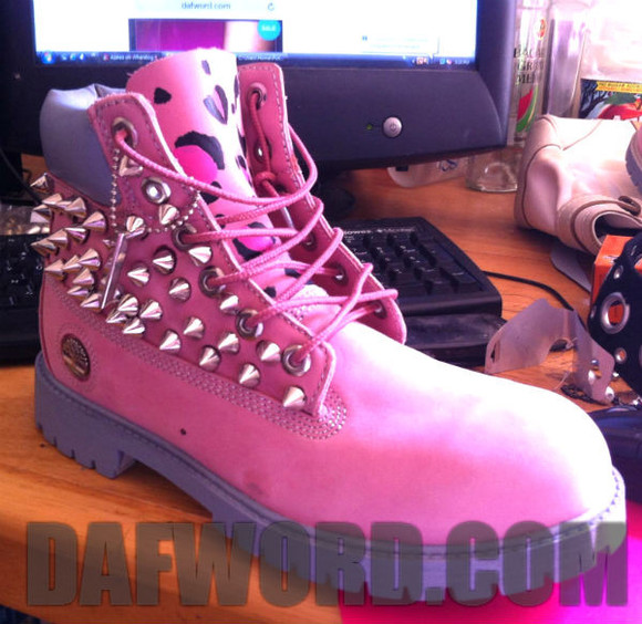 spike shoes pink timberlands pink spike timberlands leopard print leopard timberlands silver grey dafword