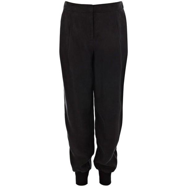Karen Millen Fluid Soft Suit Pant - Polyvore