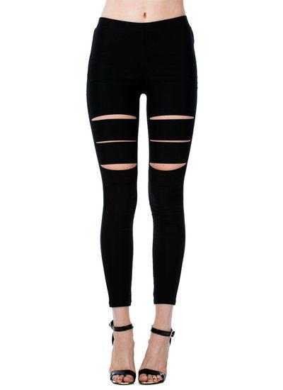 Black chic leggings · poppysboutique deliver 3