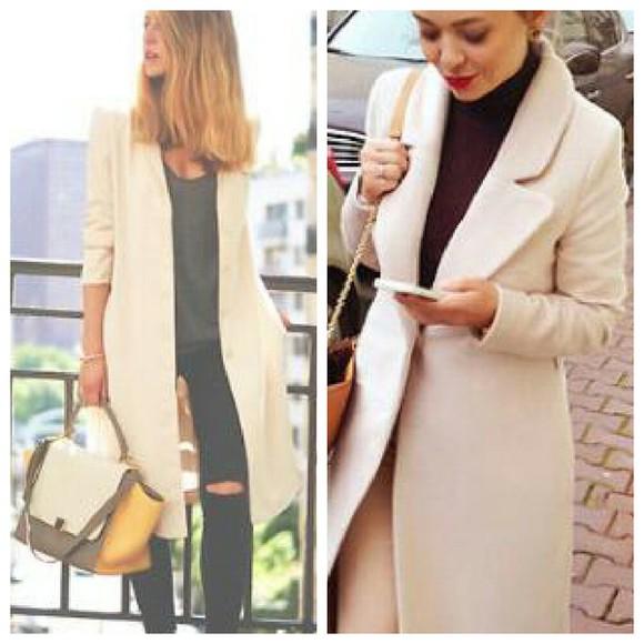 jacket beige nude veste manteau manteaux beige